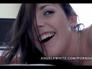 Angela White - Cazzo + Grande sborrata