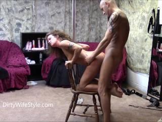 Coppia sexy Pole Dance Vagina Licking Fucking Oral Coito Masturbation Session
