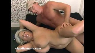 Big Boob Claudia Marie Drilled Vagina & Ass