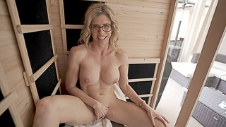 Naked Sauna Fun With My Fellows Sexy Step Mom Cory Chase