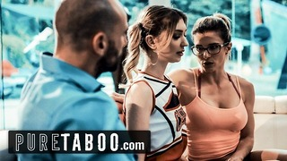 Pure Taboo Cheerleader Coerced Into Sex With Coach Her Husband