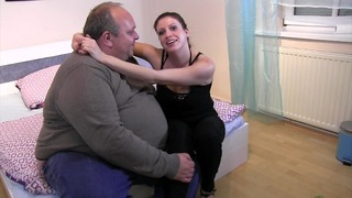 !! 300 kg !! BBW Táska rendkívül megcseszi Tinát
